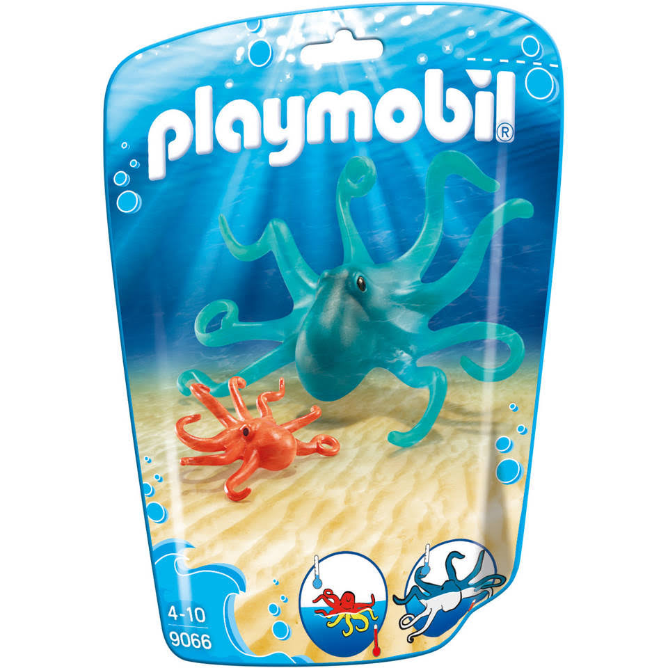Playmobil Family Fun Octopus with Baby Playset