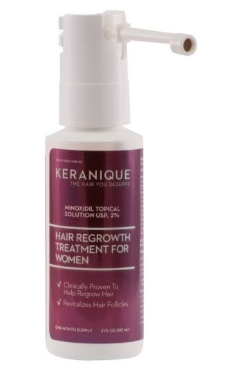 Keranique Hair Regrowth Treatment Extended Nozzle Sprayer - 2oz