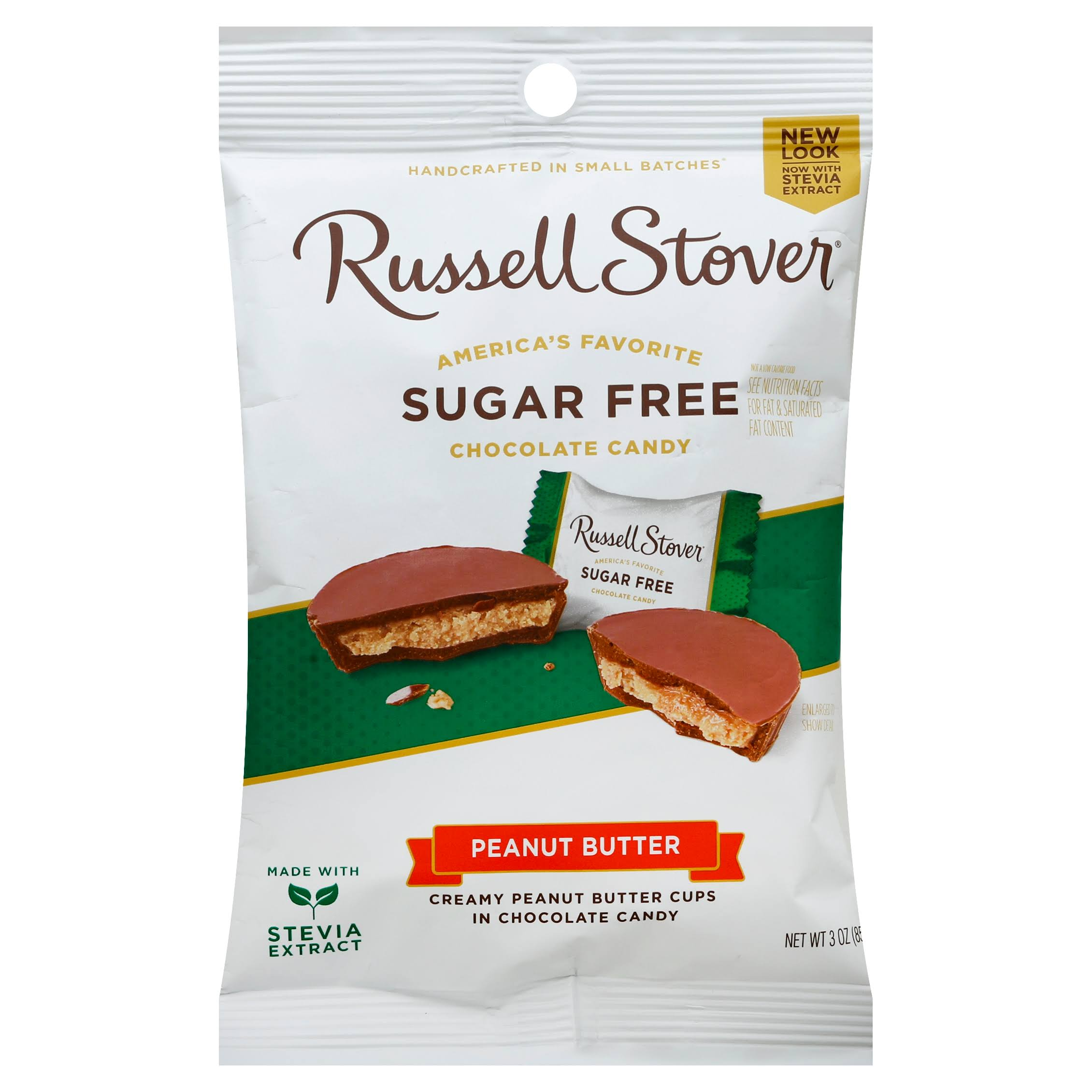 Russell Stover Sugar-Free Peanut Butter Cups - 3oz
