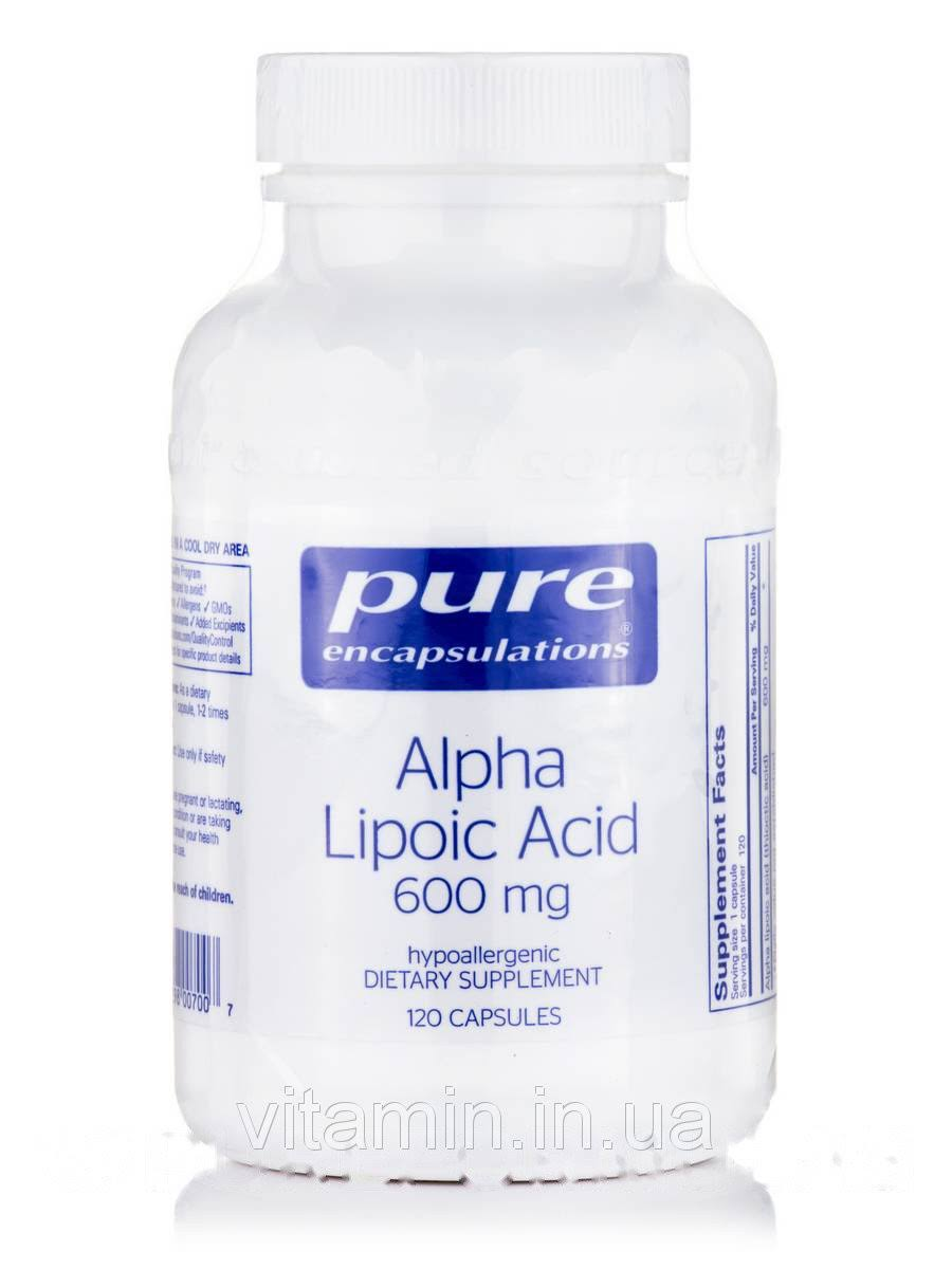 Pure Encapsulations Alpha Lipoic Acid Supplement - 600mg, 60ct
