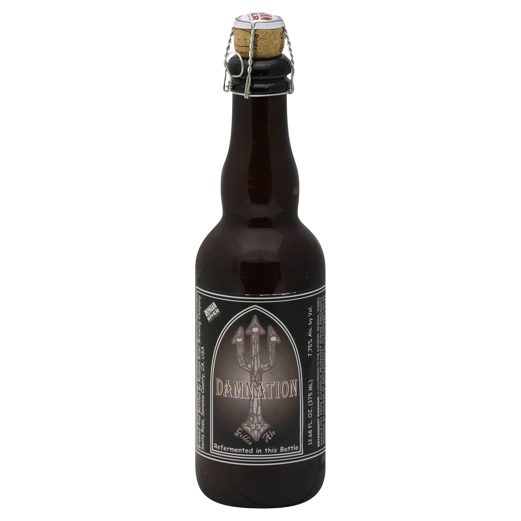 Russian River Ale, Golden - 12.68 fl oz