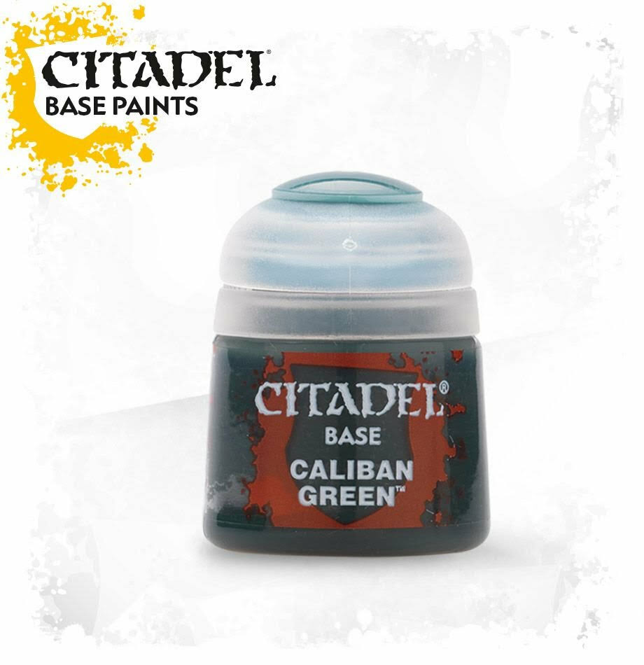 Citadel Base Paint - Caliban Green