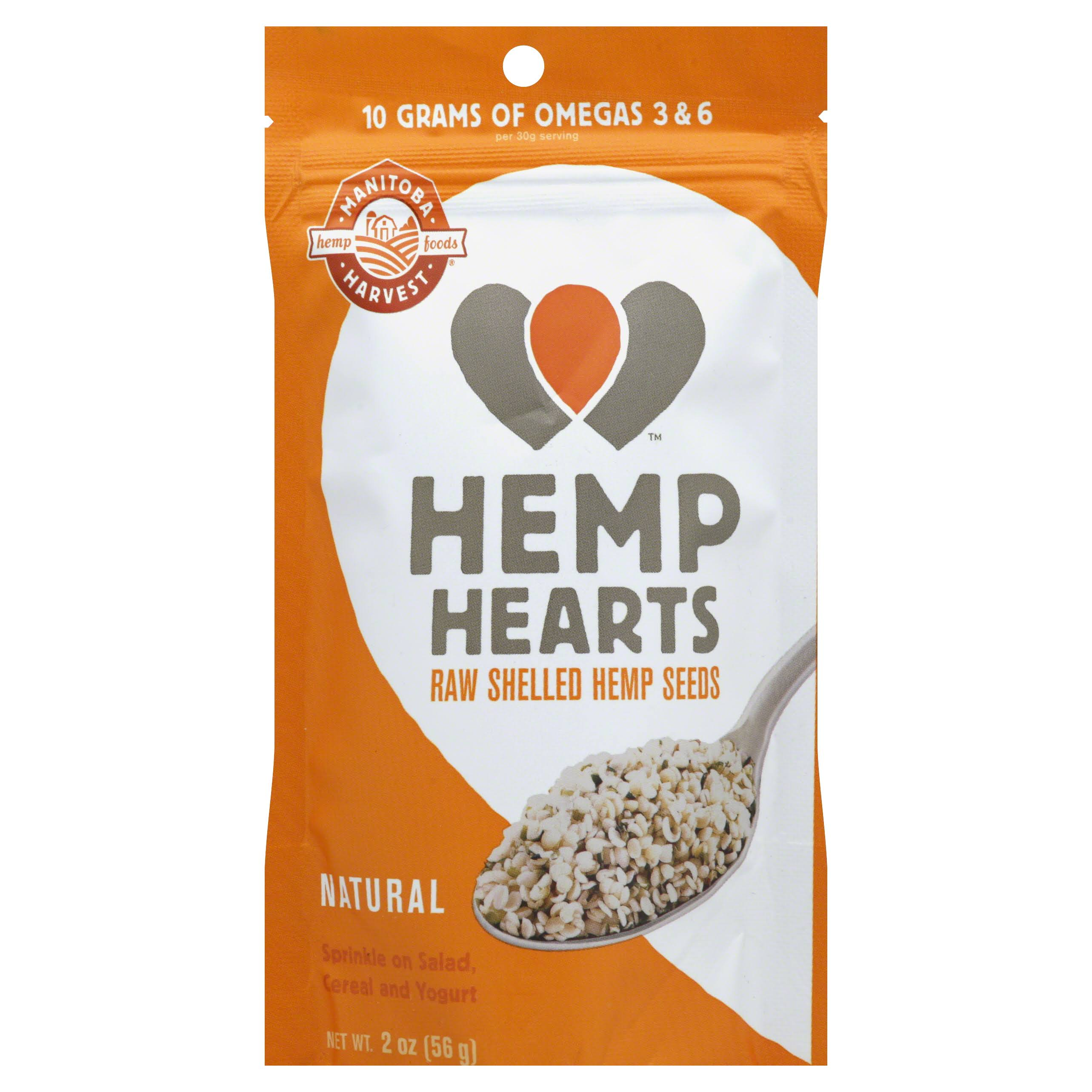 Manitoba Harvest Shelled Hemp Nut Seed - 60g