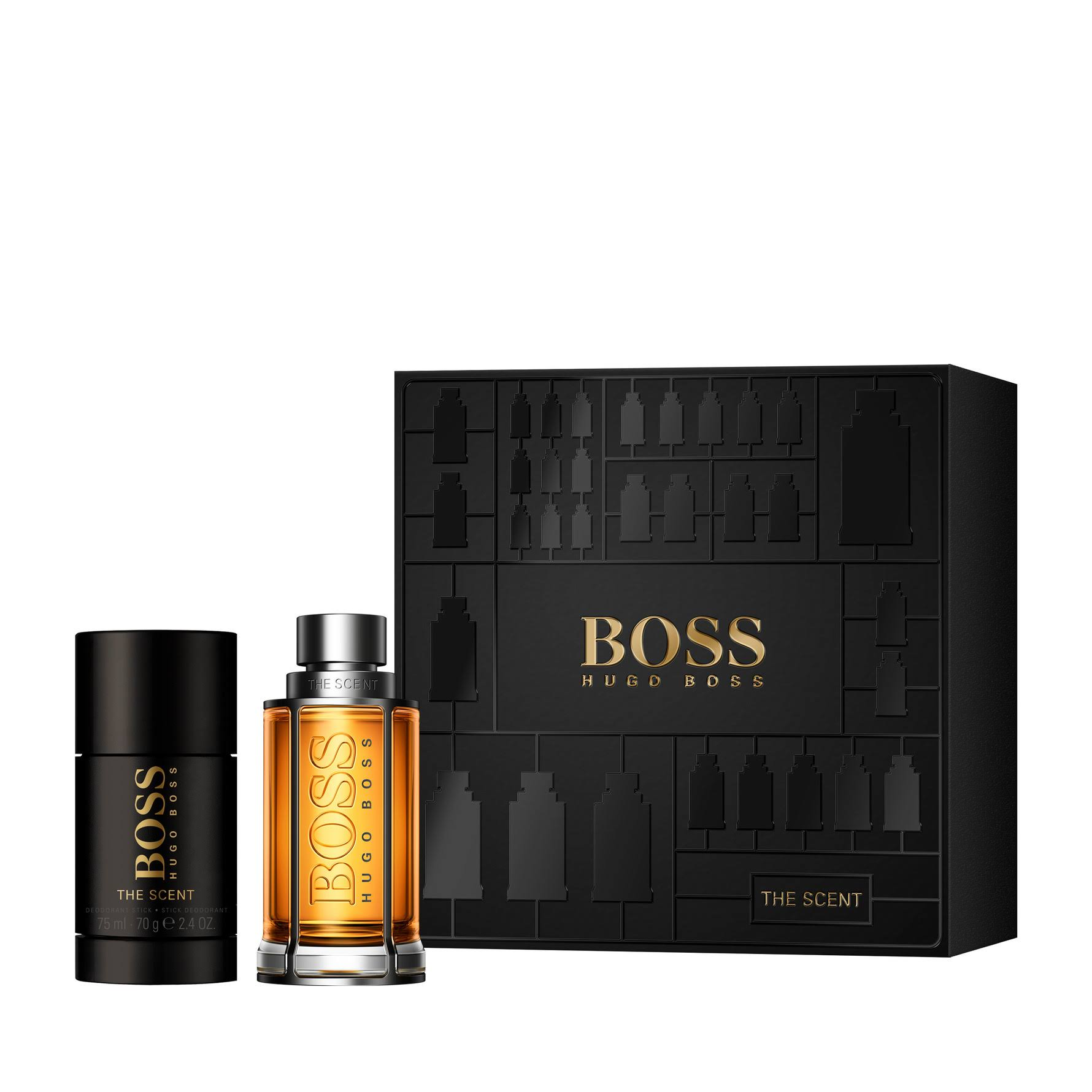 Hugo BOSS The Scent Eau De Toilette Gift Set for Him - 50ml