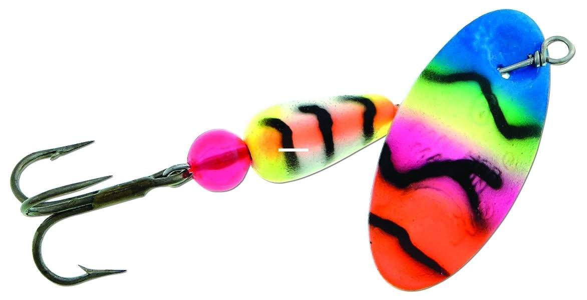 Panther Martin 2PMUV-BPO Bass Fishing Spinner - Black/Pink/Orange, 1/16oz