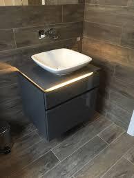Ebay Bathroom Vanity With Sink by Villeroy U0026 Boch Legato Vanity Unit In Glossy Grey 600mm Wide Led