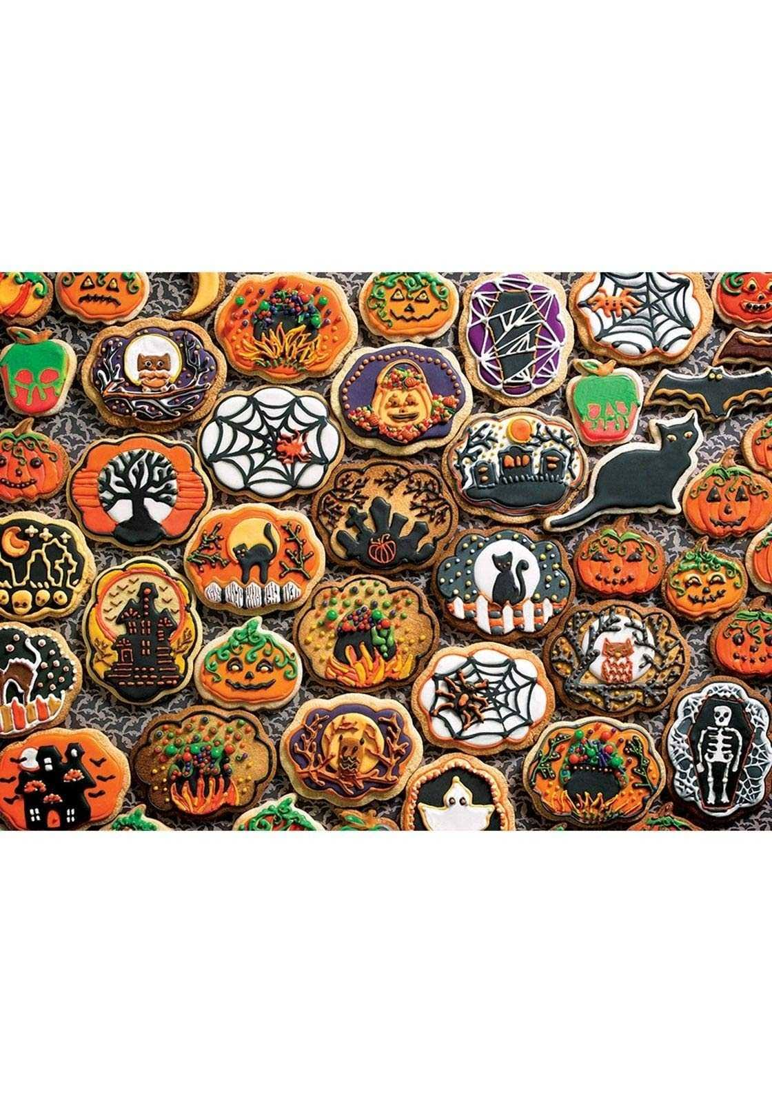 Cobble Hill Halloween Cookies 350 Family Pieces Puzzle