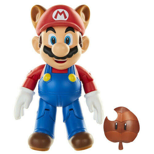 World of Nintendo Series 2-7 Raccoon Tanooki Super Mario Figure
