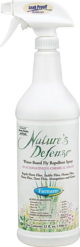 Nature Defense Concentrate Fly Repellent Spray - 32oz