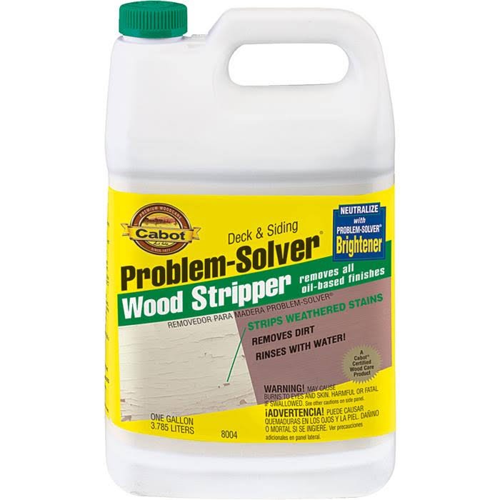 Cabot Problem Solver Wood Stripper - 1 gal