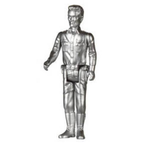 Terminator 2 T-1000 Metallic Reaction 3 3/4-Inch Retro Action Figure