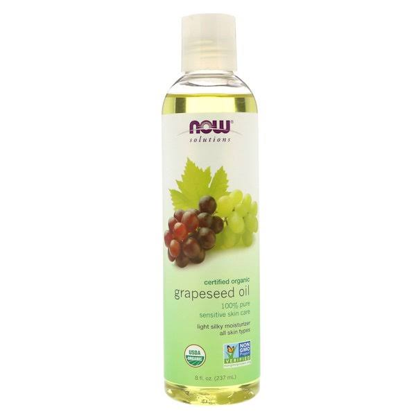Now Solutions Grapeseed Oil (Organic) 8 fl oz