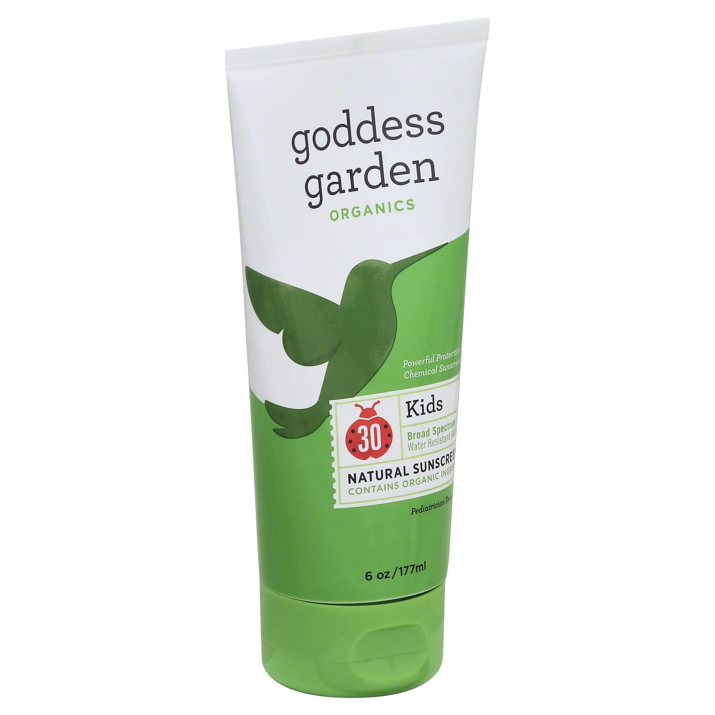 Goddess Garden Sunny Kids Natural Sunscreen - SPF 30, 6oz, 177ml