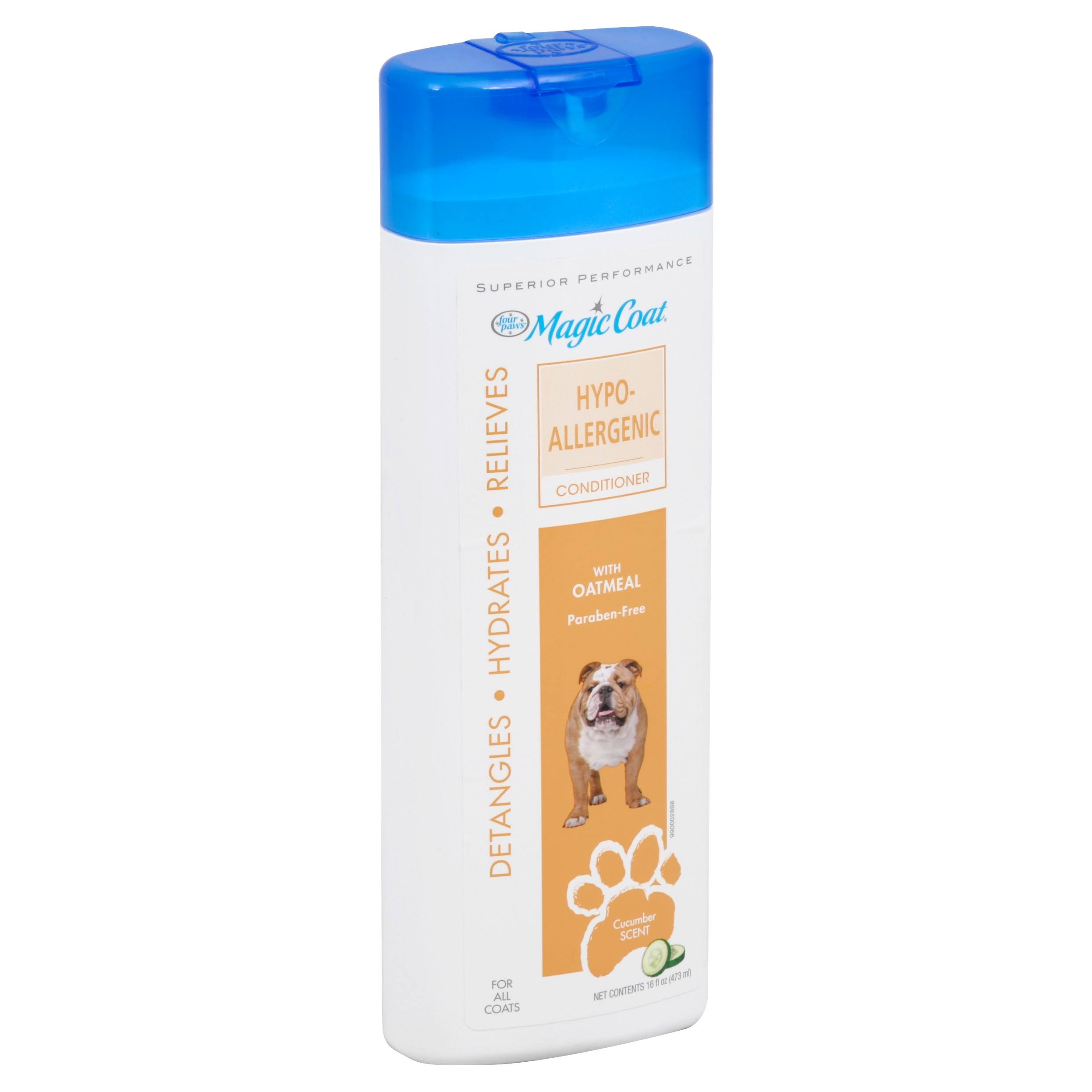 Four Paws Magic Coat Hypo Allergenic Dog Grooming Conditioner - 16oz