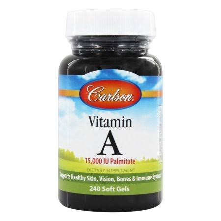 Carlson Labs Vitamin A Palmitate Supplement - 15000 IU, 240ct