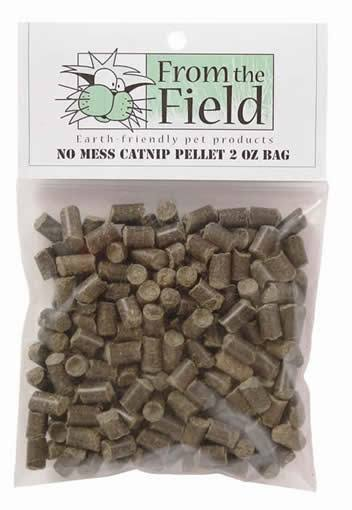 From the Field No Mess Catnip Pellet Bag - 2oz
