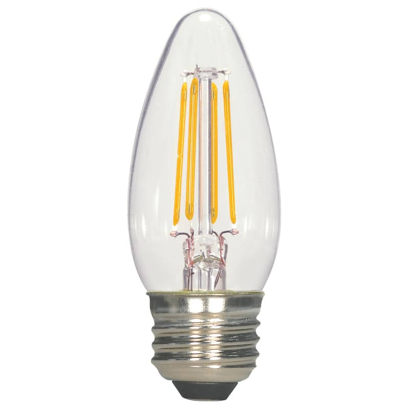 Satco S21707 LED Medium Base Bulb - Clear