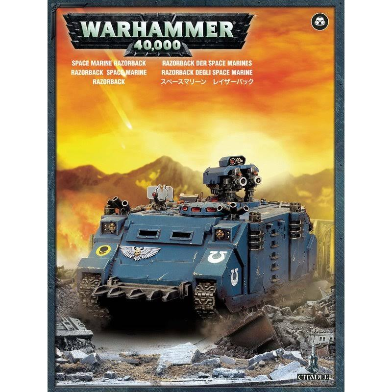 Games Workshop Space Marine Razorback 40K Miniature Set