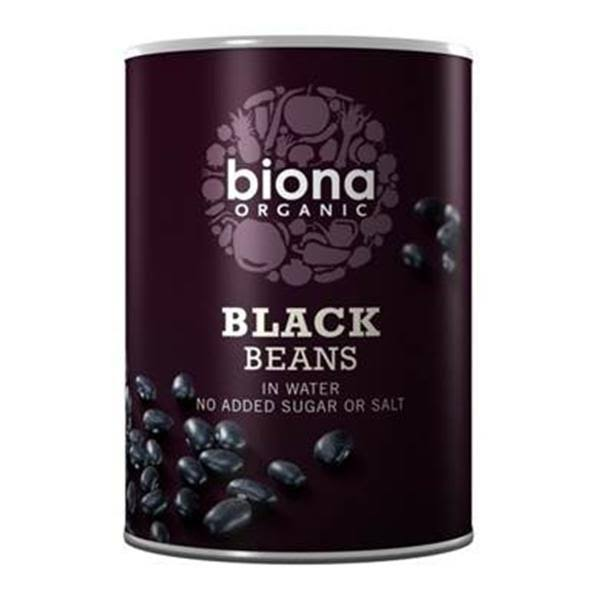 Biona Organic Black Beans In Water - 400g