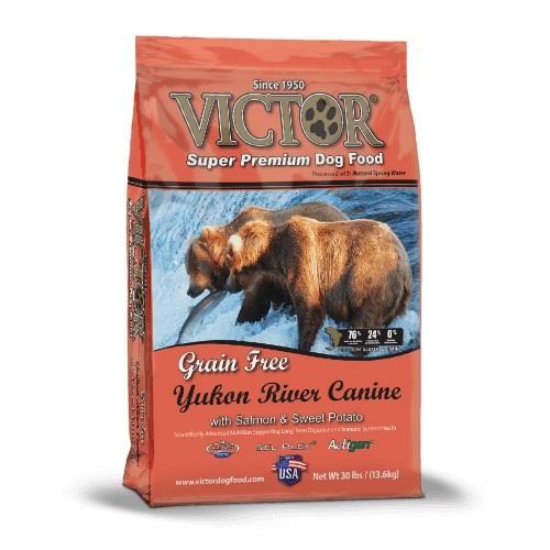 Victor Grain Yukon River Salmon and Sweet Potato Dog Food - 30lb