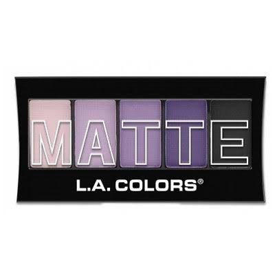La Colors Matte Eye Shadow - Purple Cashmere, 0.08oz