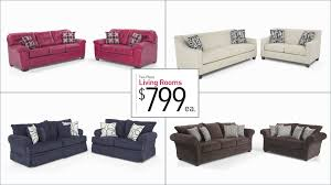 Bobs Furniture Sofa Bed by Two Piece Living Room Sets For 799 Bob U0027s Discount Furniture