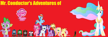 Sesame Street A Magical Halloween Adventure Credits by Mr Conductor U0027s Adventures Of My Little Pony Friendship Is Magic
