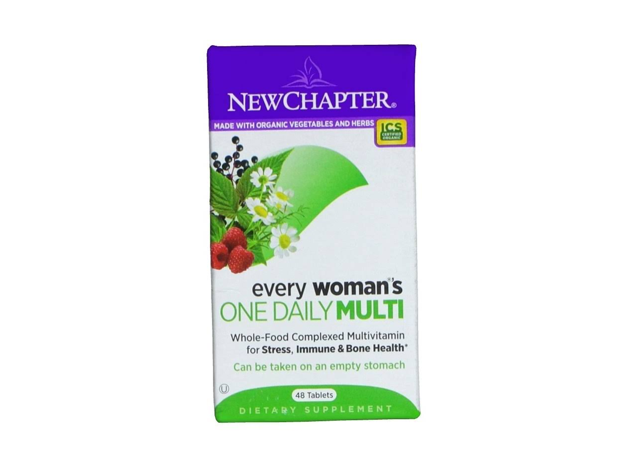 Chapter Organics Every Woman's One Daily Multi Vitamin - 48 tablets