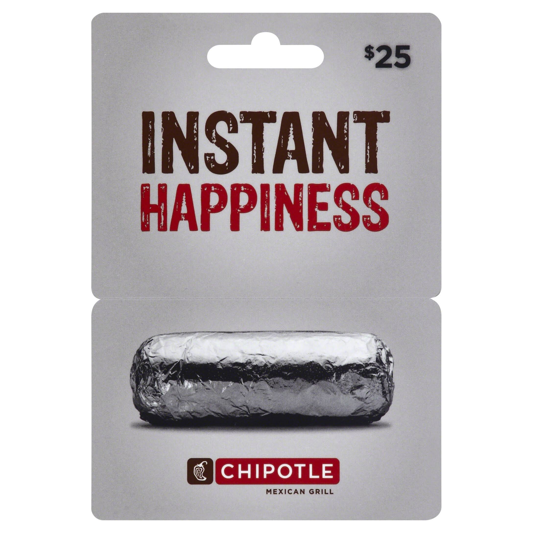 Chipotle Gift Card,