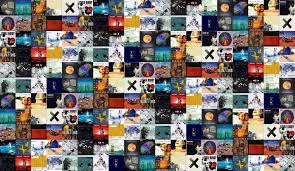 Smashing Pumpkins Zeitgeist Album Cover by Little Birdy Tiled Desktop Wallpaper
