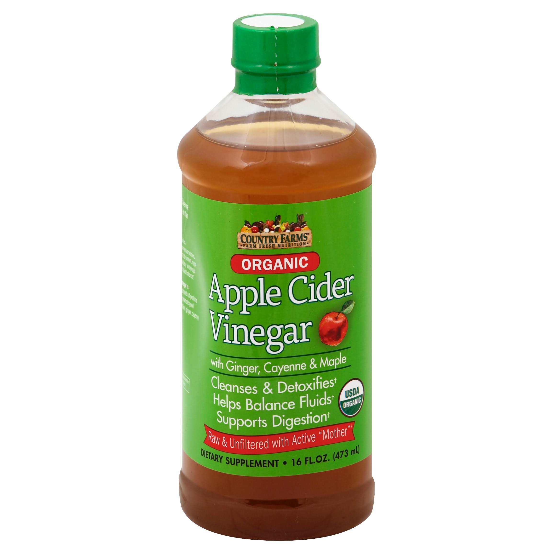 Country Farms Organic Apple Cider Vinegar Drink - 16oz