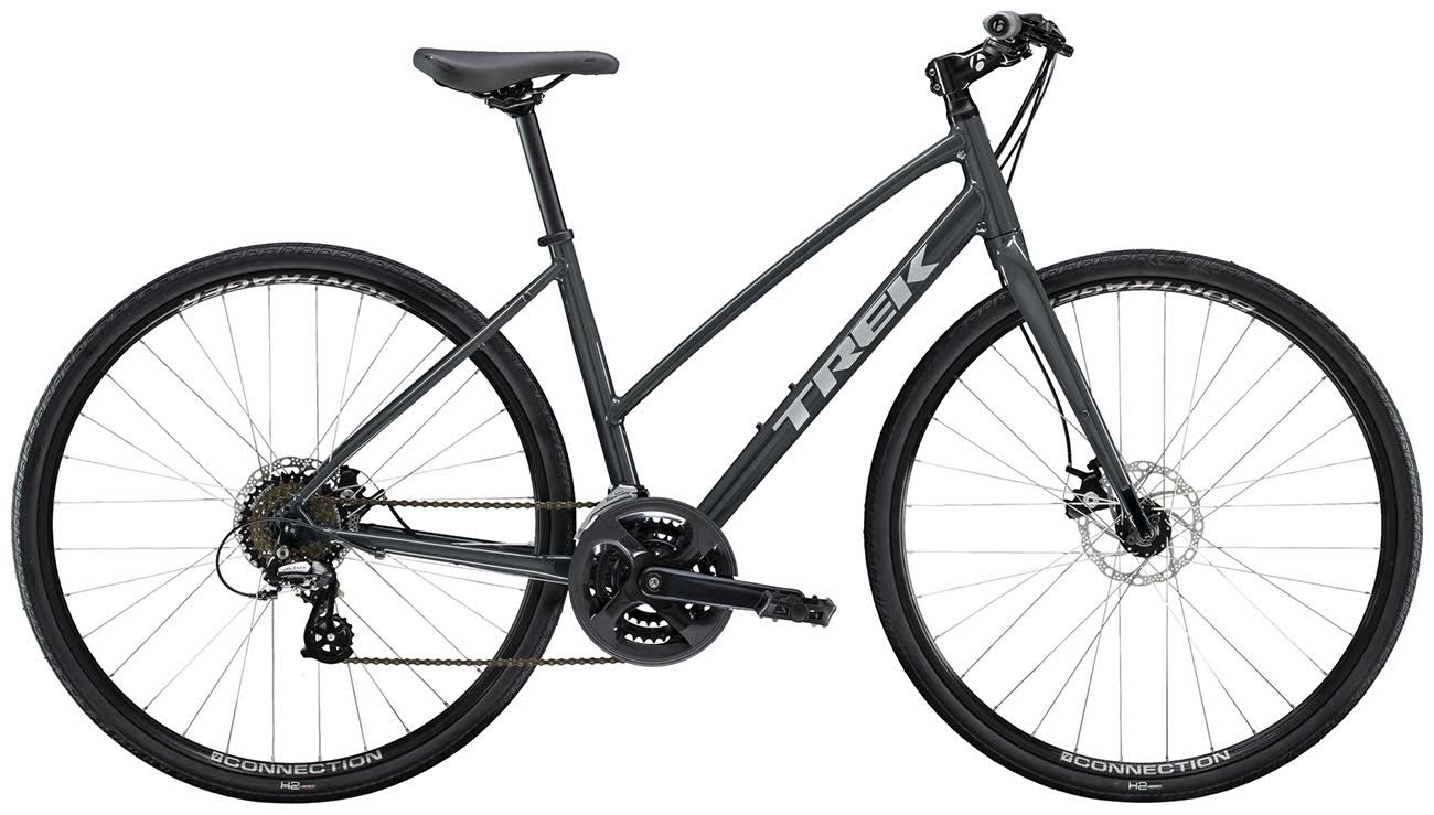 Trek FX 1 Stagger Disc Mountain Bike - Solid Charcoal