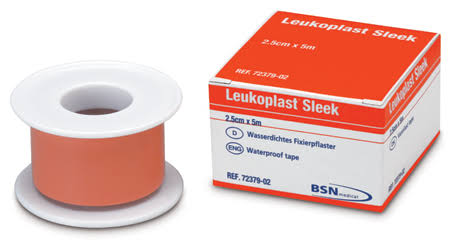 Leukoplast Sleek Waterproof Tape - 2.5cm x 3m