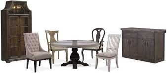 Value City Kitchen Table Sets by The Lancaster Round Dining Collection Value City Furniture