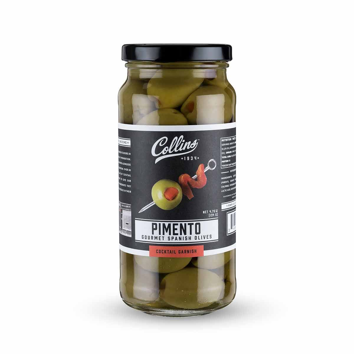 Collins Accessories Gourmet Martini Pimento Olives - 134g
