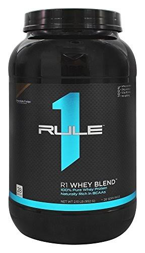 Rule 1 Proteins R1 Whey Blend - Chocolate Fudge