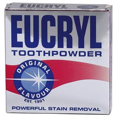 Eucryl Smokers Tooth Powder Powerful Stain Removal - Original Flavor, 50g