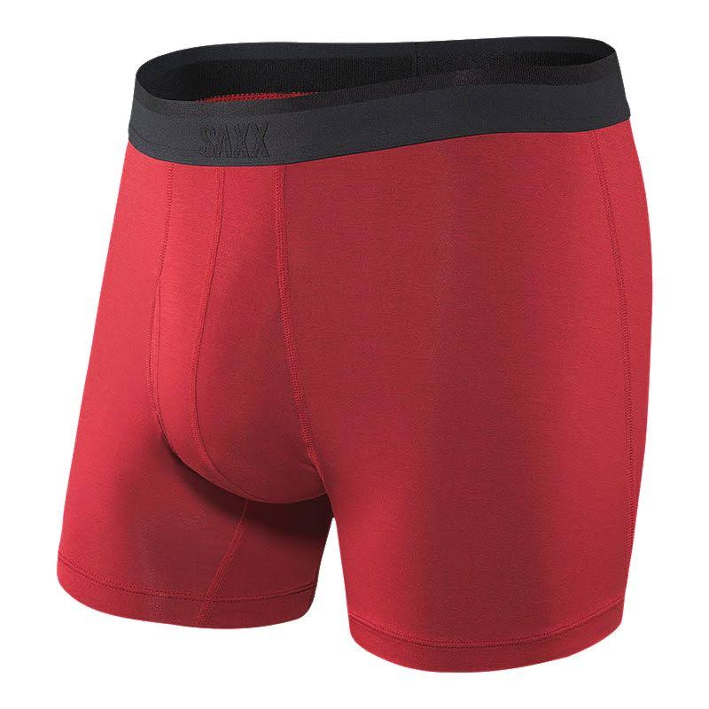 Saxx Platinum Red Boxer Brief