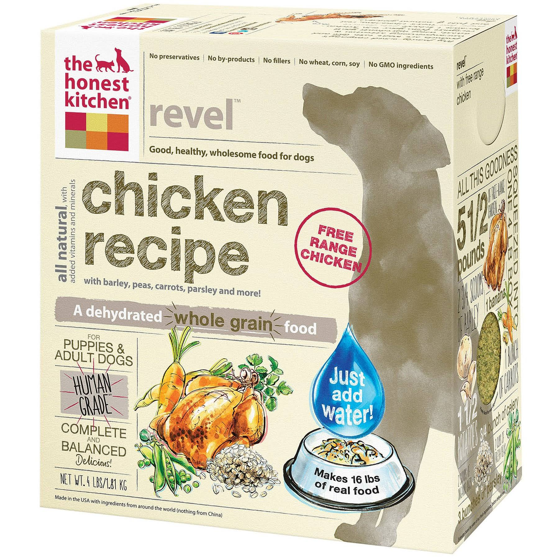 The Honest Kitchen Revel Dehydrated Dog Food - 4lb, Chicken