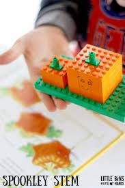 Spookley The Square Pumpkin Preschool Activities by Lego Spookley Pumpkin Stem Activity Little Bins For Little Hands