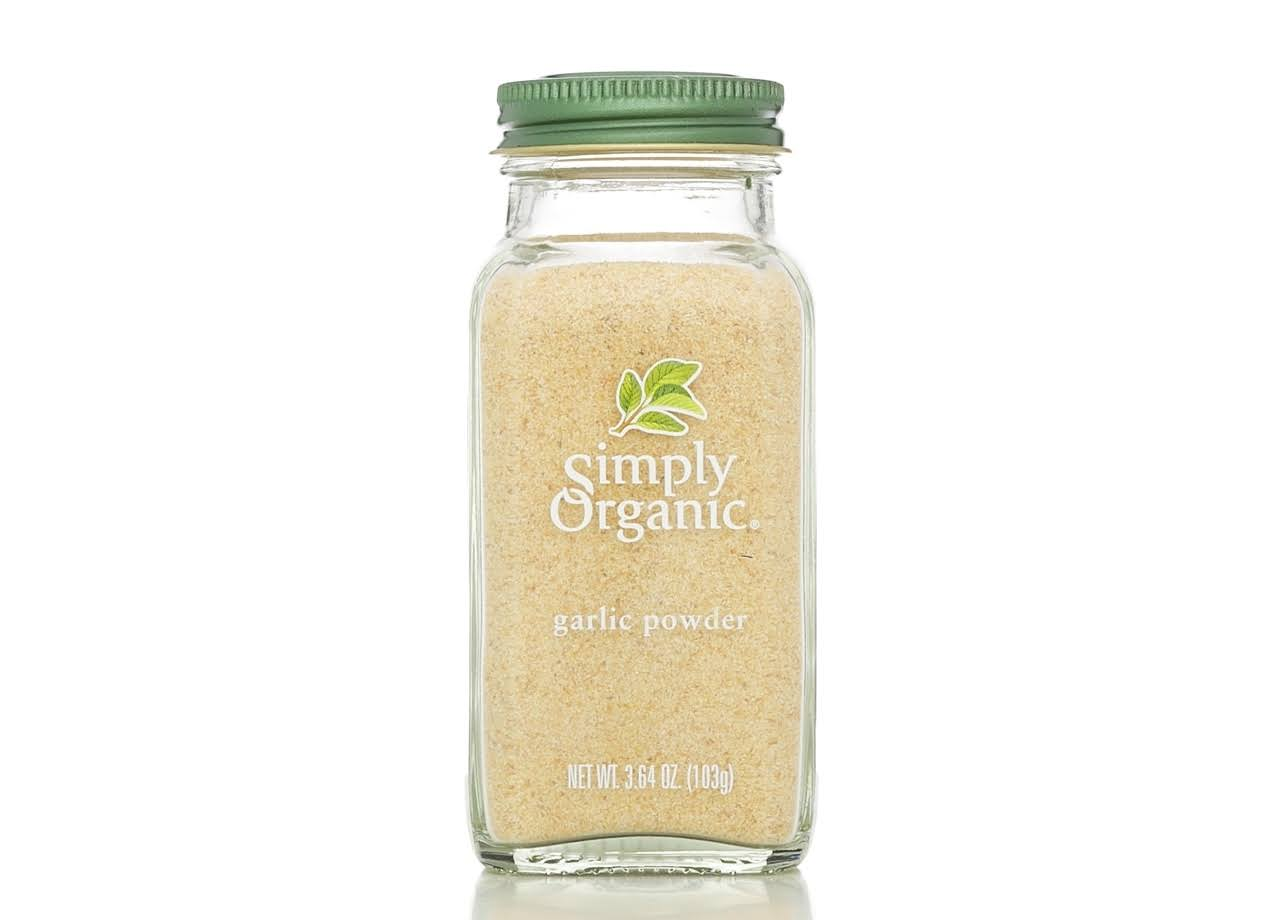 Simply Organic Garlic Powder - 103g