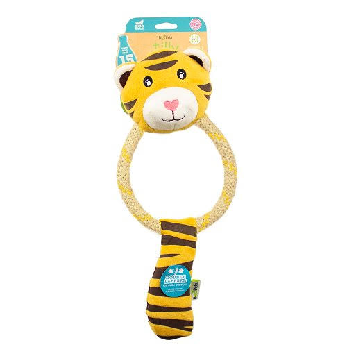 Beco Pets Tilly The Tiger Dog Toy Large