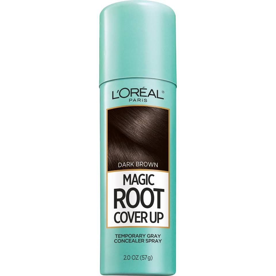 L'Oréal Paris Root Cover Up Temporary Gray Concealer Spray - Dark Brown, 2.0oz