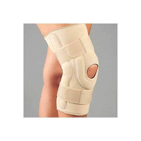 Fla - Neoprene Stabilizing Knee Brace w/Composite Hinges