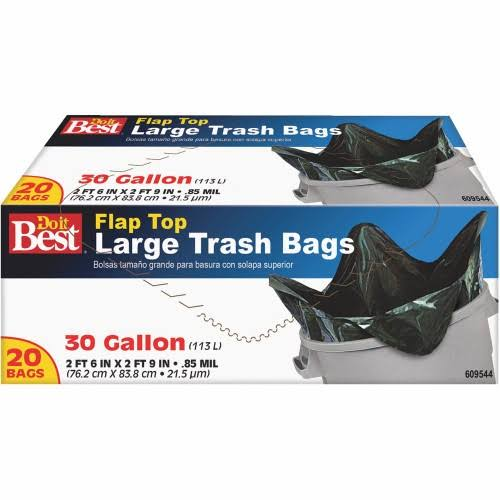 Presto Products 609544 Trash Bag - 30gal, 20ct