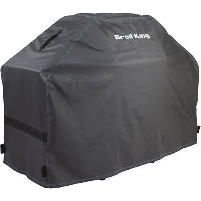Broil King 68487 Heavy Duty PVC Polyester Grill Cover - Black