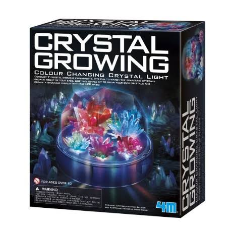 Toysmith - Crystal Growing Color-Changing Light