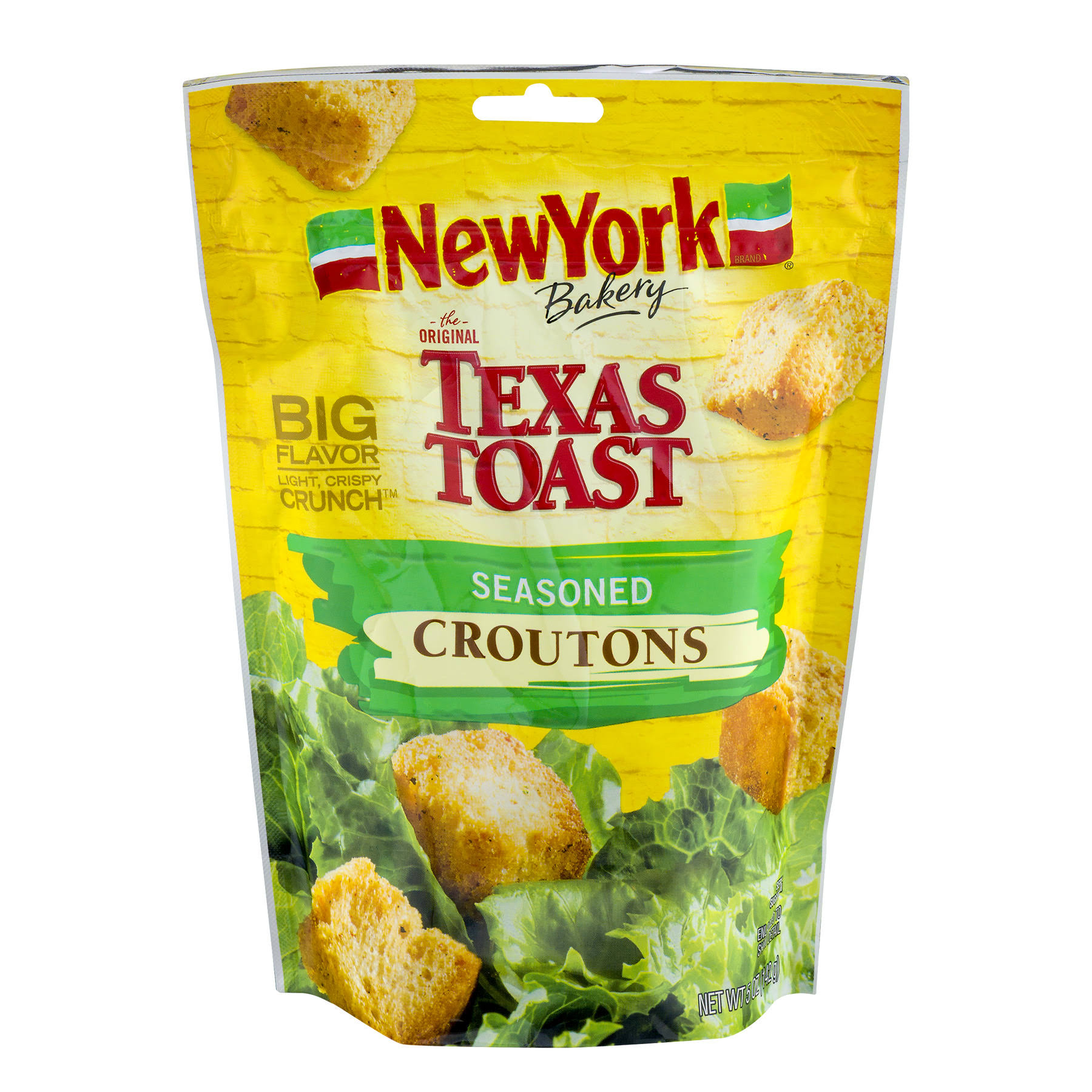 New York Bakery The Original Texas Toast Croutons - Seasoned, 5oz