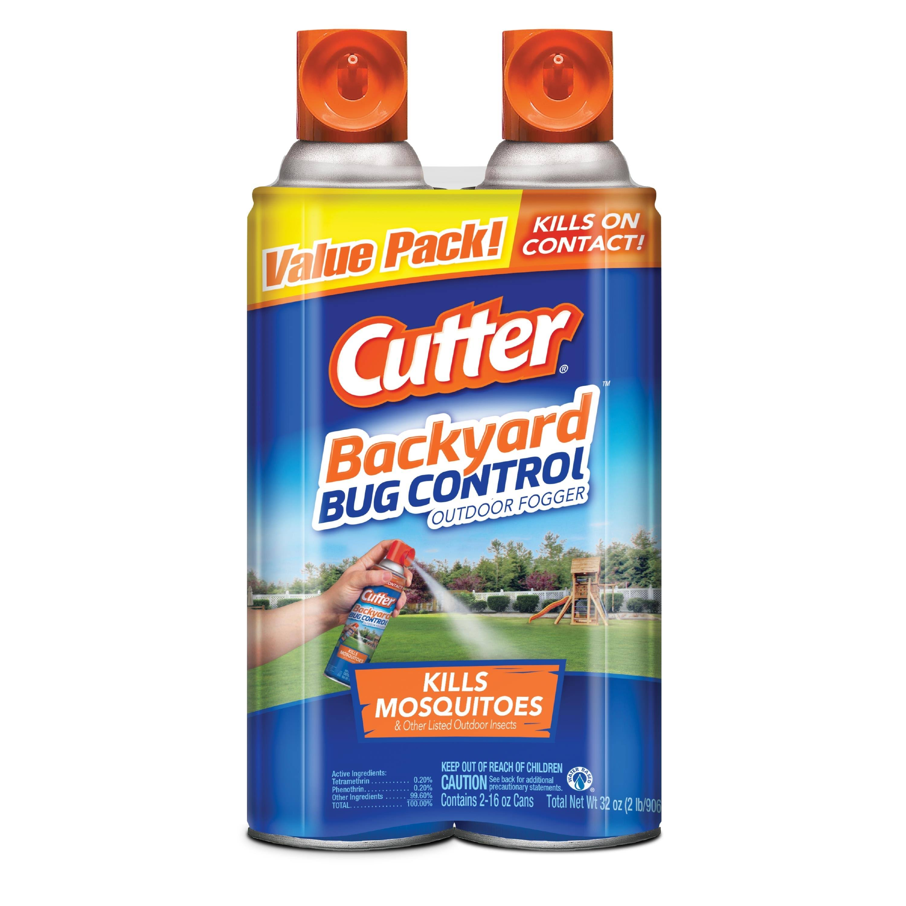 Cutter Backyard Bug Control Outdoor Fogger - 16oz, 2pk