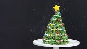 Rice Krispie Christmas Tree Cake by Giant Marshmallow U0026 Cornflakes Christmas Tree Treat Recipe Myrecipes